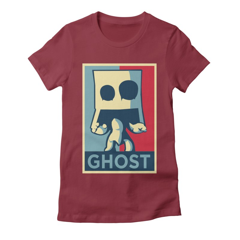 The Politics of BoxGhost Women's Fitted T-Shirt by Kappacino Creations