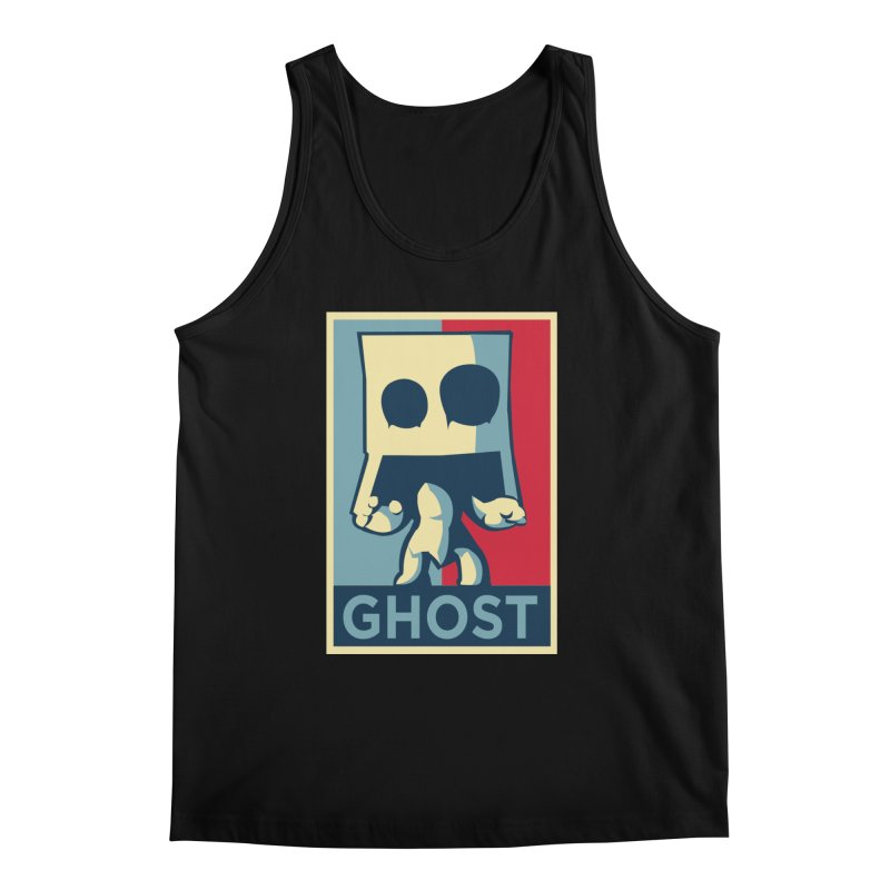 The Politics of BoxGhost Men's Tank by Kappacino Creations