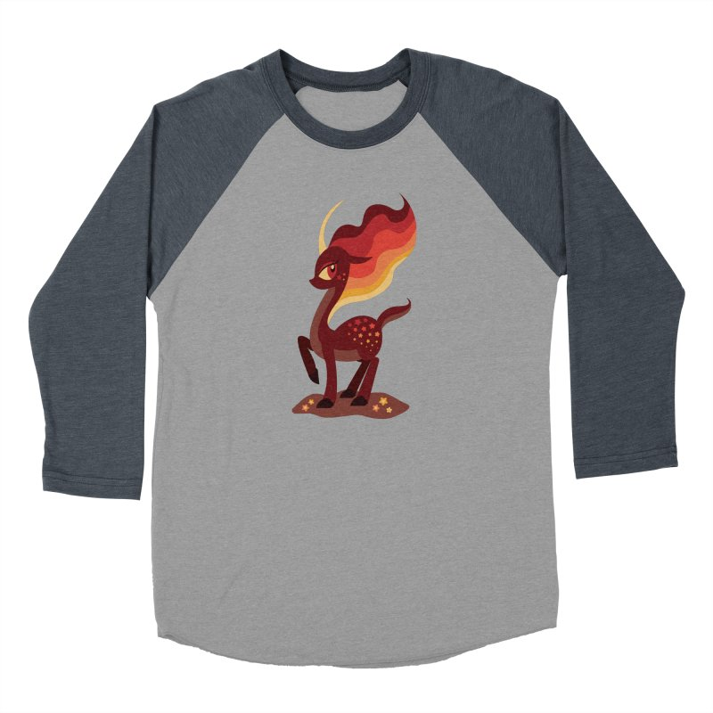 Fire of the Forest Women's Longsleeve T-Shirt by Kappacino Creations