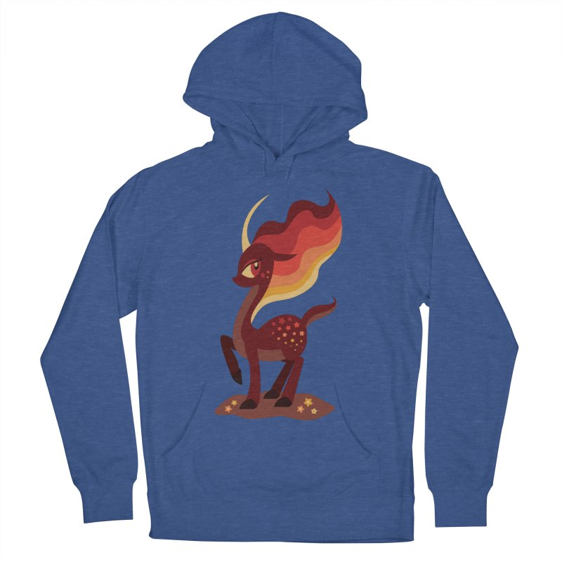 Fire of the Forest Women's French Terry Pullover Hoody by Kappacino Creations
