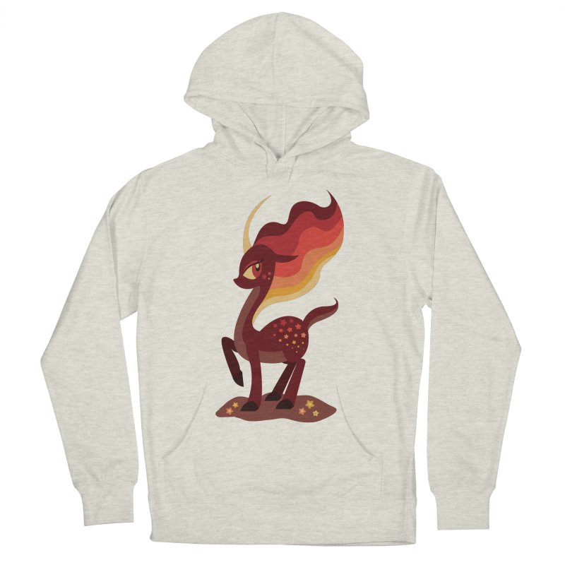 Fire of the Forest Men's Pullover Hoody by Kappacino Creations