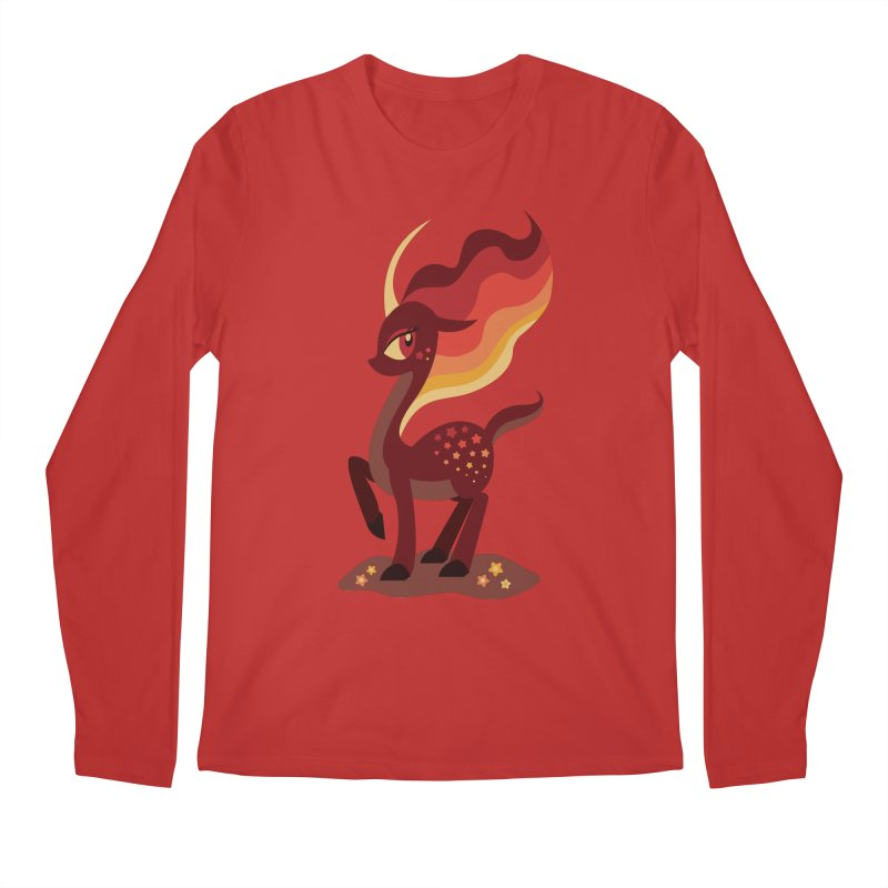 Fire of the Forest Men's Longsleeve T-Shirt by Kappacino Creations