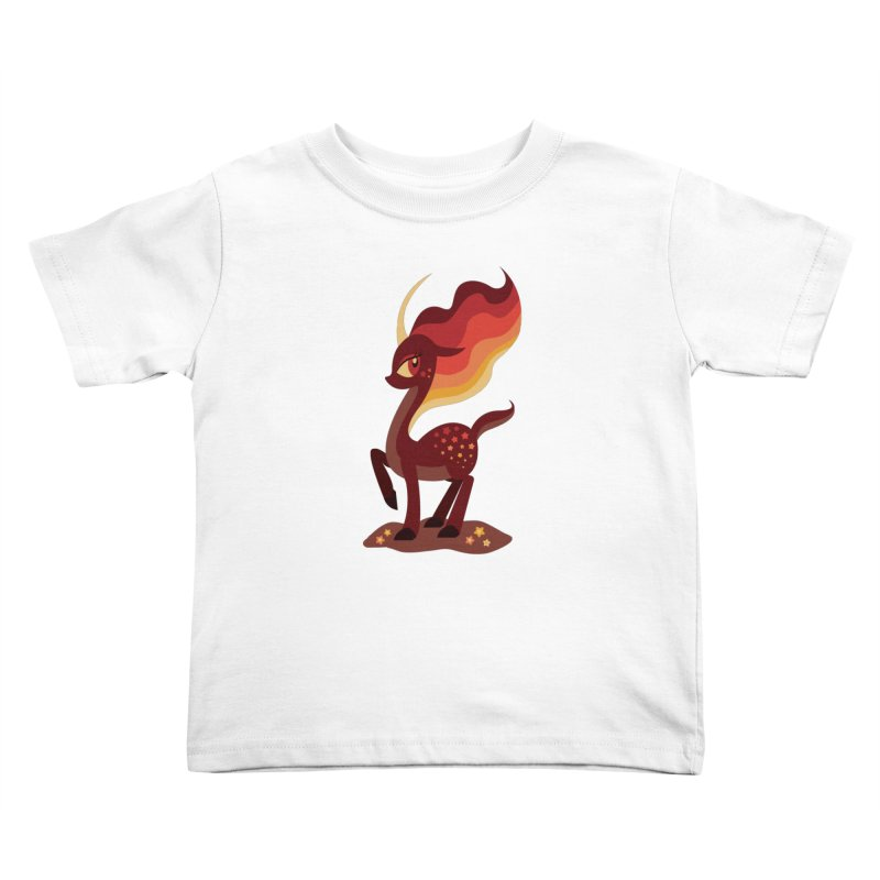 Fire of the Forest Kids Toddler T-Shirt by Kappacino Creations