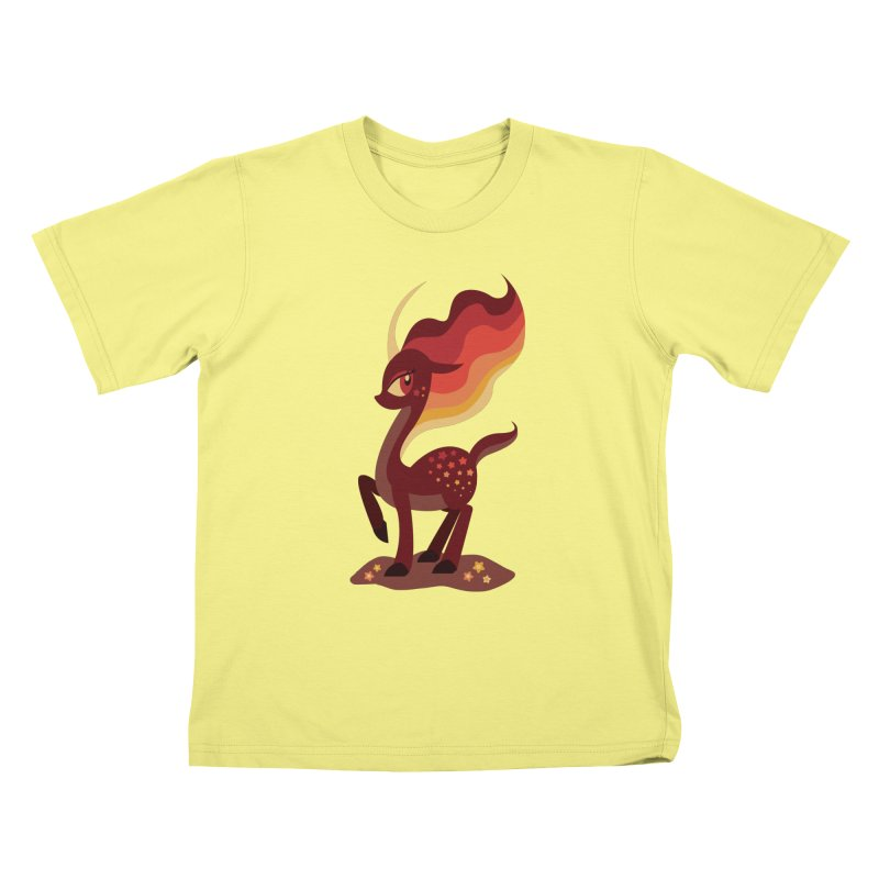 Fire of the Forest Kids T-shirt by Kappacino Creations
