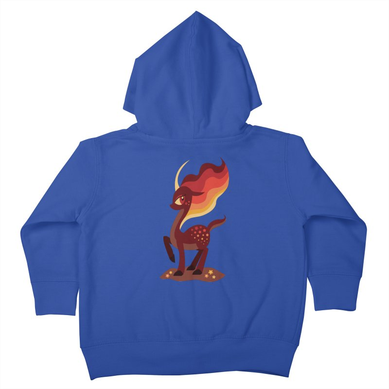 Fire of the Forest Kids Toddler Zip-Up Hoody by Kappacino Creations