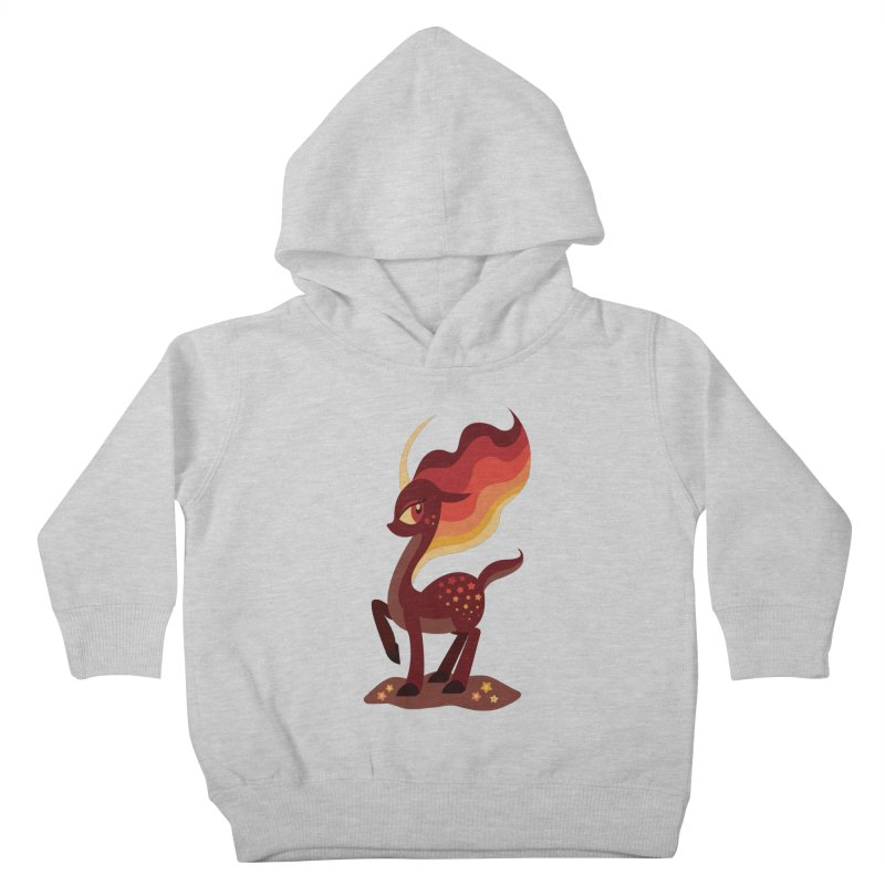 Fire of the Forest Kids Toddler Pullover Hoody by Kappacino Creations
