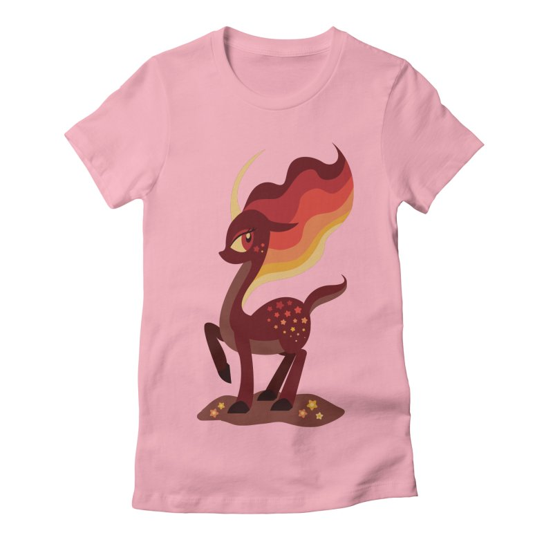 Fire of the Forest Women's T-Shirt by Kappacino Creations