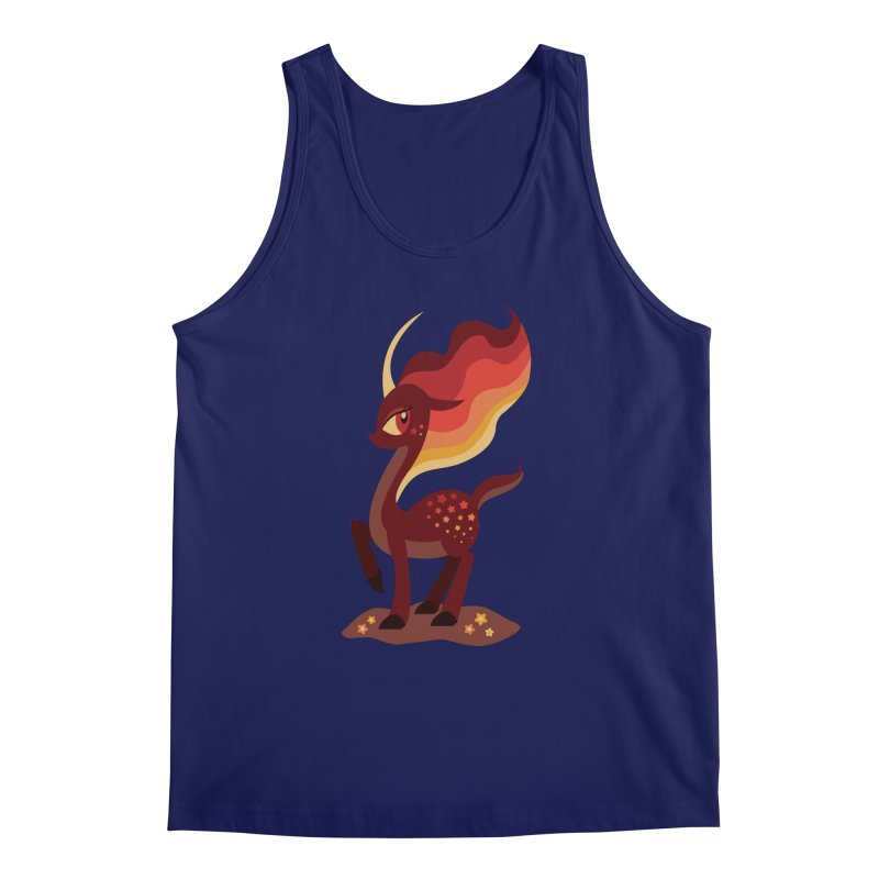 Fire of the Forest Men's Tank by Kappacino Creations