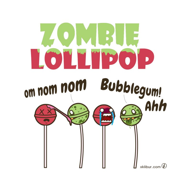 Zombie Lollipop None  by xklibur's Artist Shop