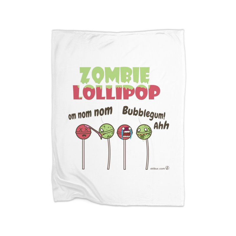 Zombie Lollipop Home Blanket by xklibur's Artist Shop