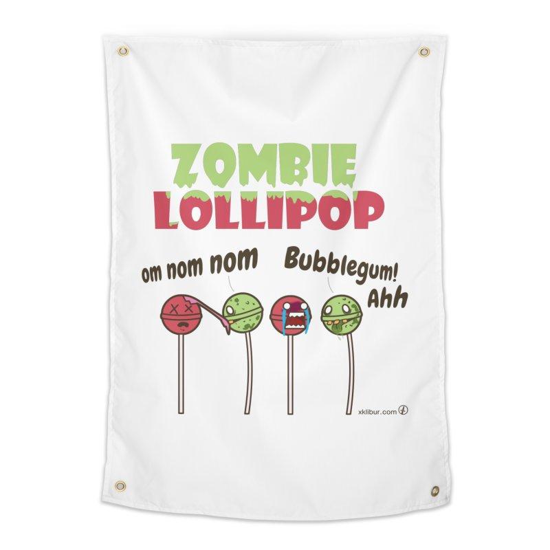 Zombie Lollipop Home Tapestry by xklibur's Artist Shop
