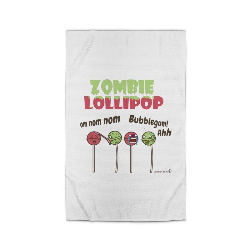 Zombie Lollipop Home Rug by xklibur's Artist Shop