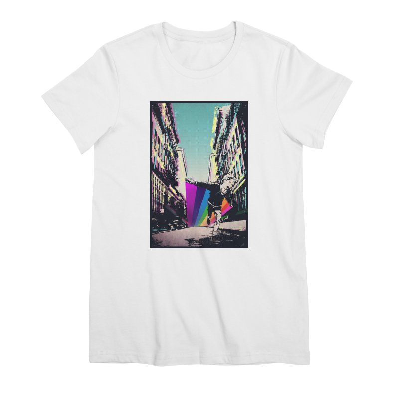 THE STREETS WILL ALWAYS BE OURS Women's Premium T-Shirt by · STUDI X-LEE ·