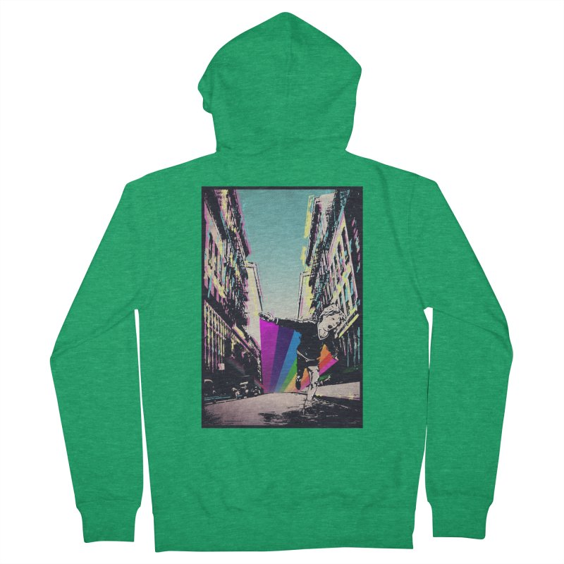 THE STREETS WILL ALWAYS BE OURS Men's French Terry Zip-Up Hoody by · STUDI X-LEE ·