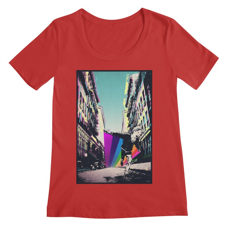 THE STREETS WILL ALWAYS BE OURS Women's Regular Scoop Neck by · STUDI X-LEE ·