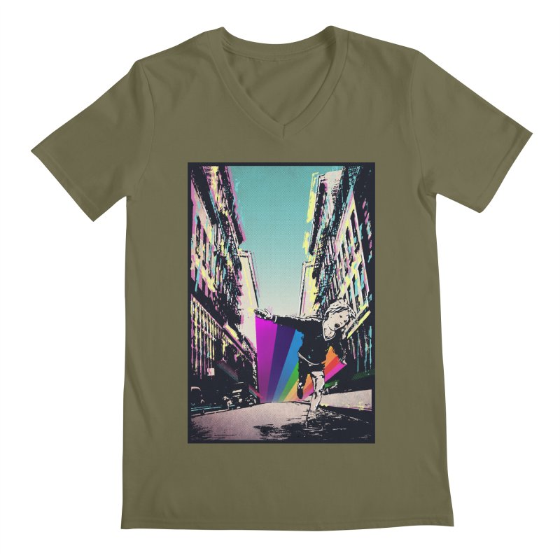 THE STREETS WILL ALWAYS BE OURS Men's Regular V-Neck by · STUDI X-LEE ·