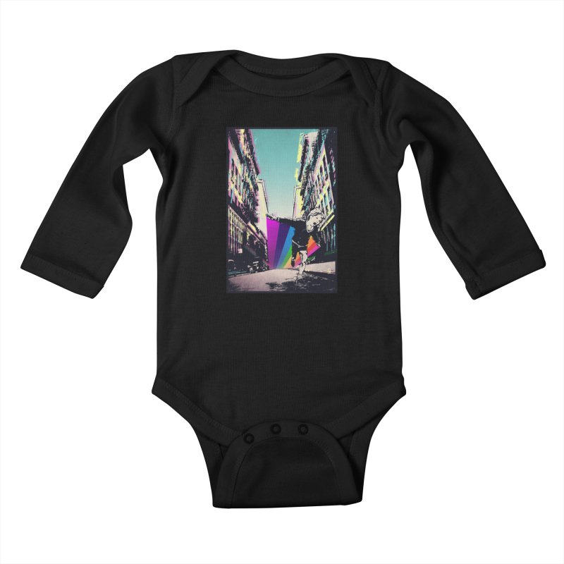 THE STREETS WILL ALWAYS BE OURS Kids Baby Longsleeve Bodysuit by · STUDI X-LEE ·