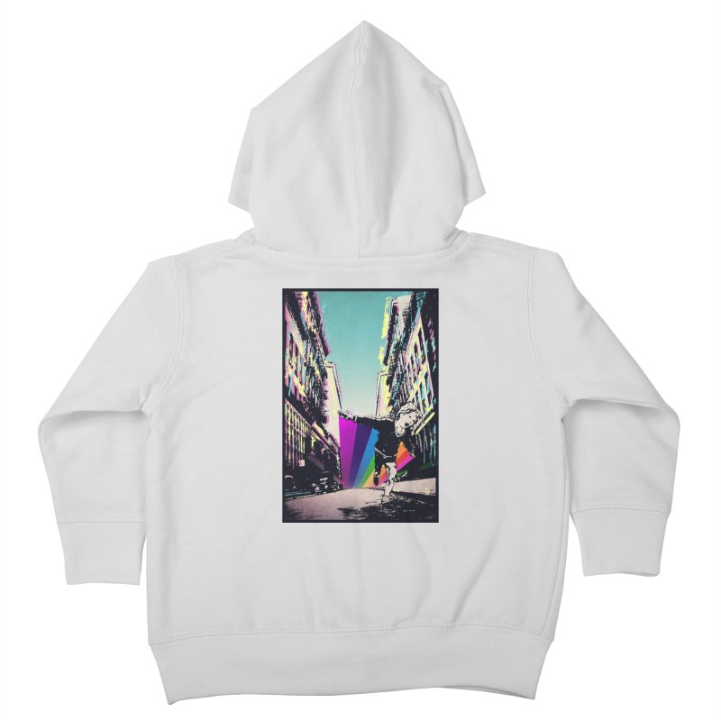 THE STREETS WILL ALWAYS BE OURS Kids Toddler Zip-Up Hoody by · STUDI X-LEE ·