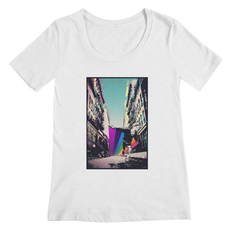 THE STREETS WILL ALWAYS BE OURS Women's Scoop Neck by · STUDI X-LEE ·