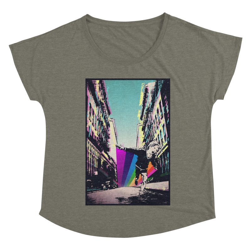 THE STREETS WILL ALWAYS BE OURS Women's Dolman Scoop Neck by · STUDI X-LEE ·