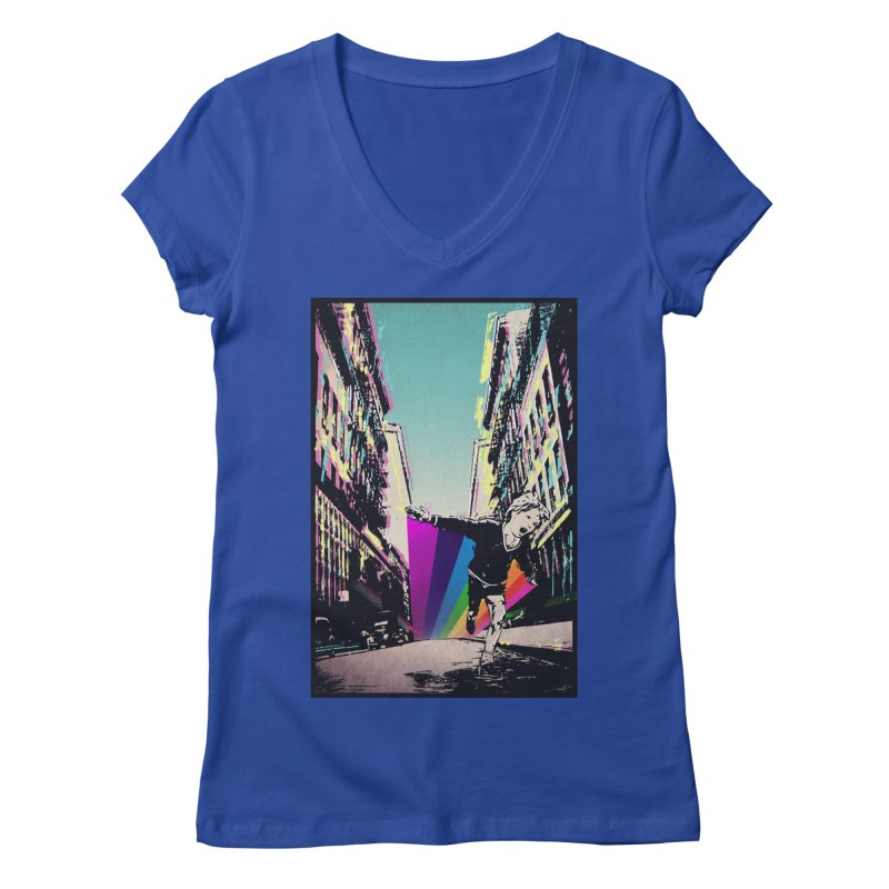 THE STREETS WILL ALWAYS BE OURS Women's V-Neck by · STUDI X-LEE ·