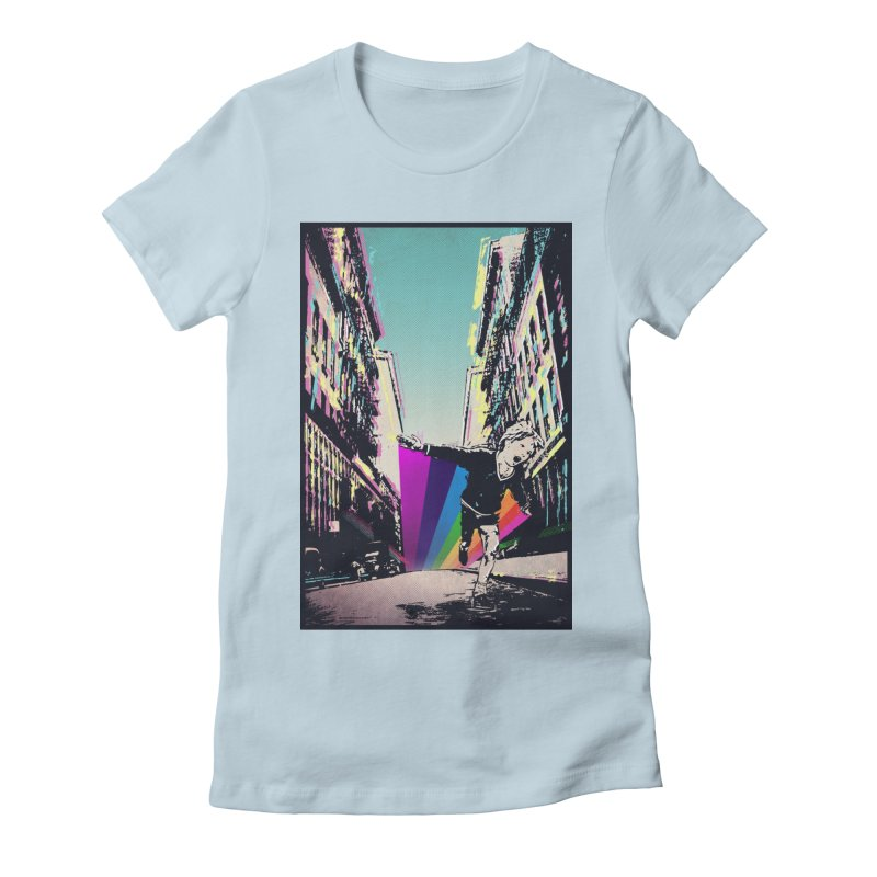 THE STREETS WILL ALWAYS BE OURS Women's Fitted T-Shirt by · STUDI X-LEE ·