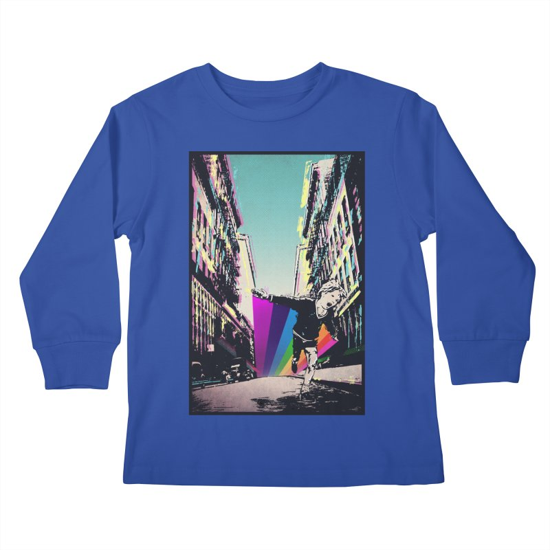 THE STREETS WILL ALWAYS BE OURS Kids Longsleeve T-Shirt by · STUDI X-LEE ·