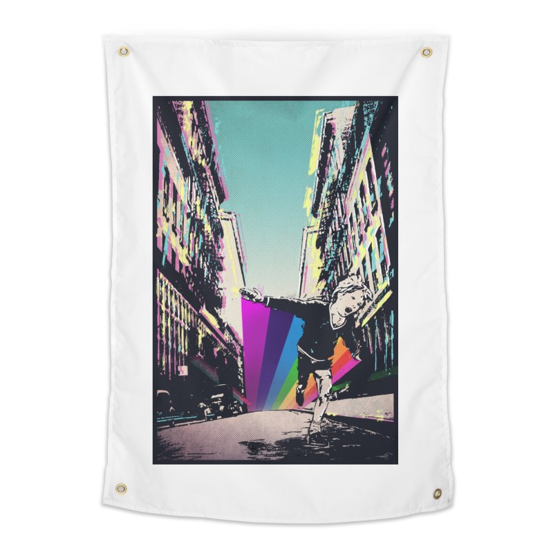 THE STREETS WILL ALWAYS BE OURS Home Tapestry by · STUDI X-LEE ·