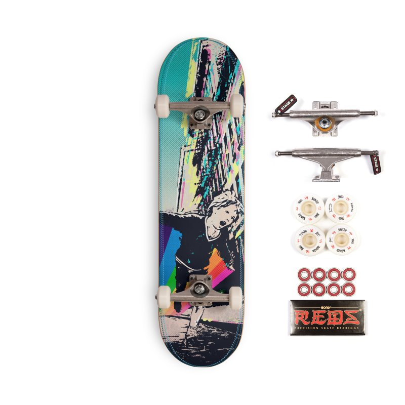 THE STREETS WILL ALWAYS BE OURS Accessories Complete - Pro Skateboard by · STUDI X-LEE ·