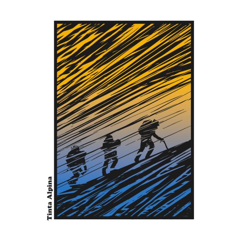 Alpinistes Groc/Blau Kids Pullover Hoody by · STUDI X-LEE ·