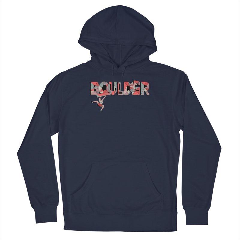 Red Boulder Men's Pullover Hoody by · STUDI X-LEE ·