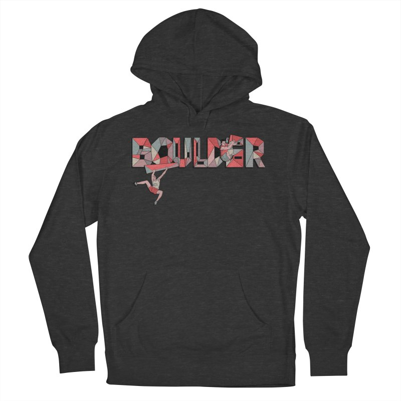Red Boulder Men's French Terry Pullover Hoody by · STUDI X-LEE ·