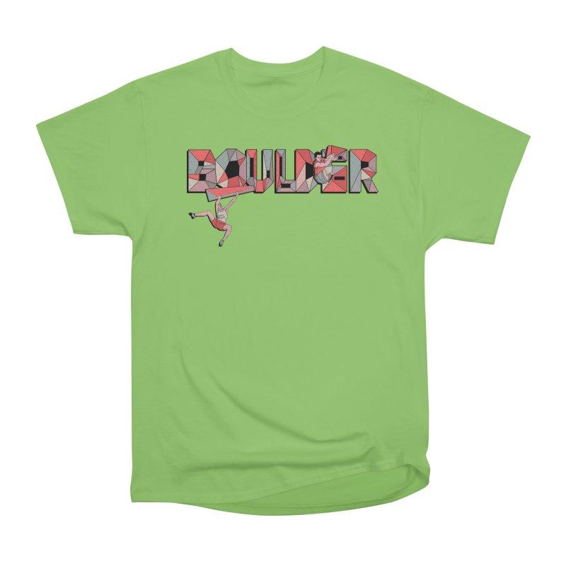 Red Boulder Men's T-Shirt by · STUDI X-LEE ·