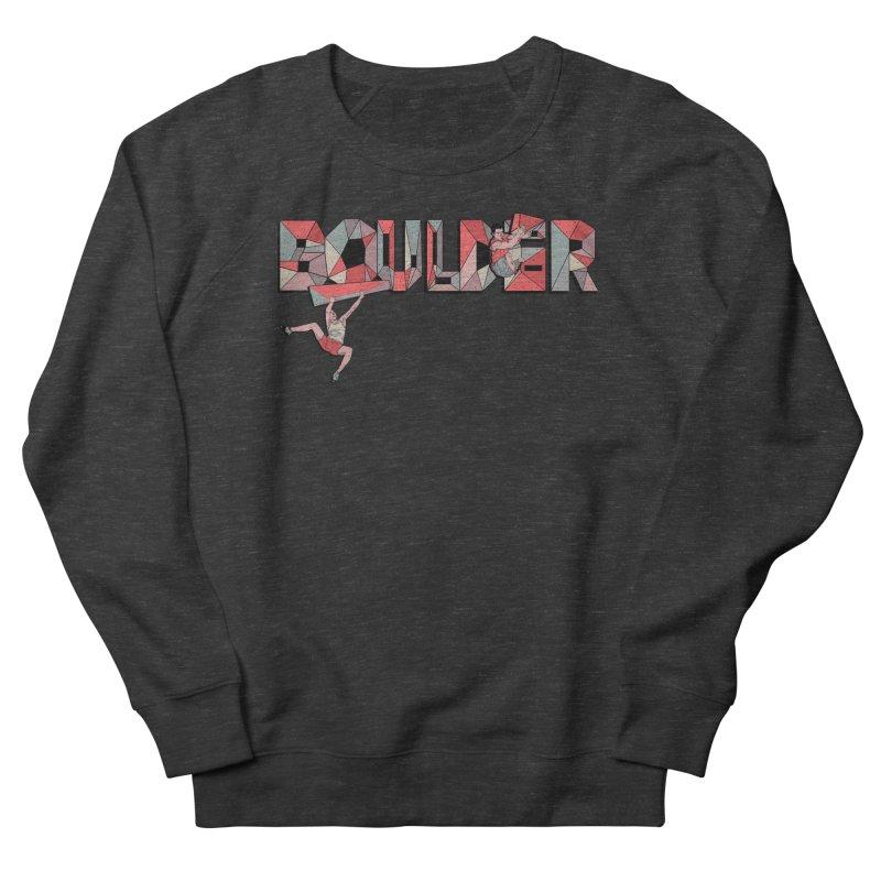 Red Boulder Men's Sweatshirt by · STUDI X-LEE ·