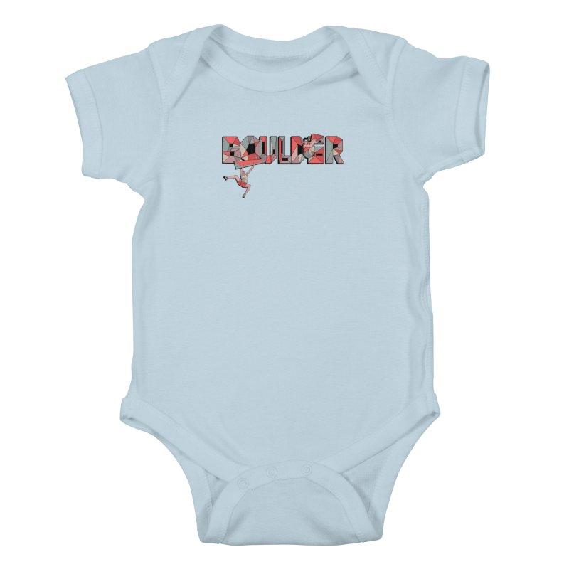 Red Boulder Kids Baby Bodysuit by · STUDI X-LEE ·