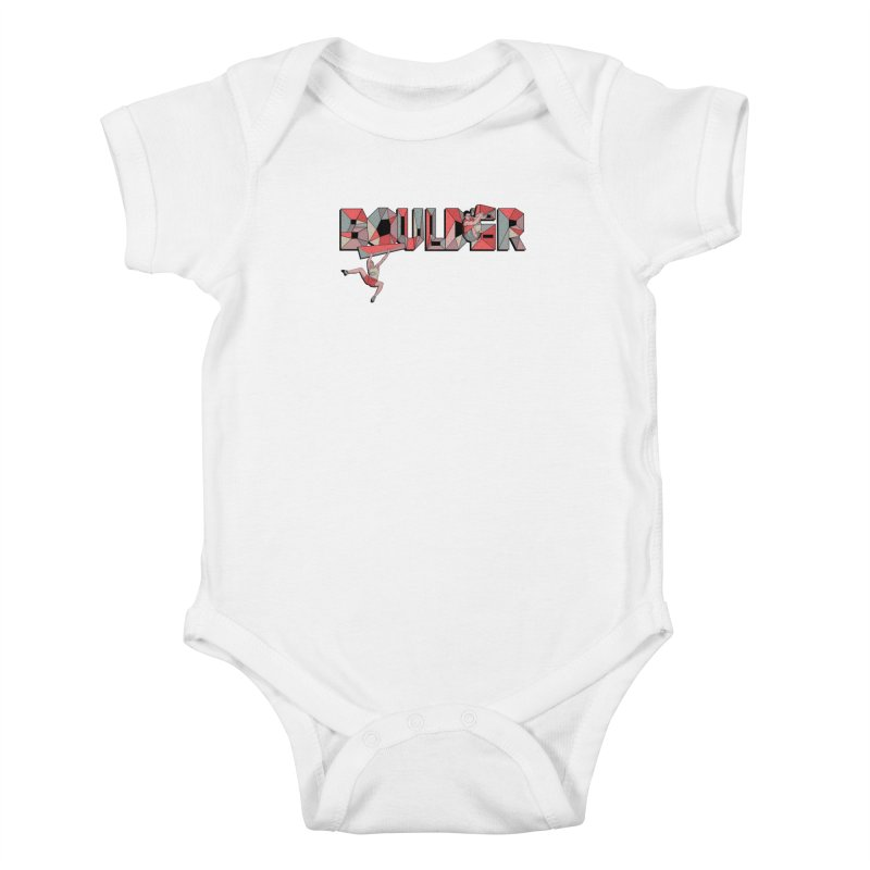 Red Boulder Kids Baby Bodysuit by INK. ALPINA