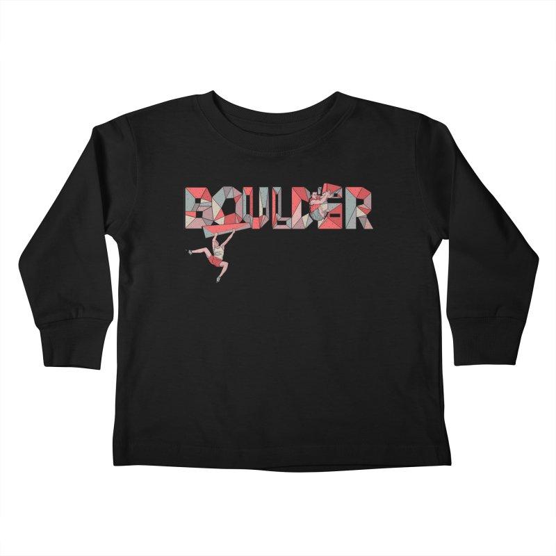 Red Boulder Kids Toddler Longsleeve T-Shirt by · STUDI X-LEE ·