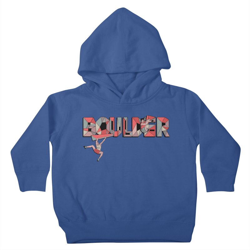 Red Boulder Kids Toddler Pullover Hoody by INK. ALPINA