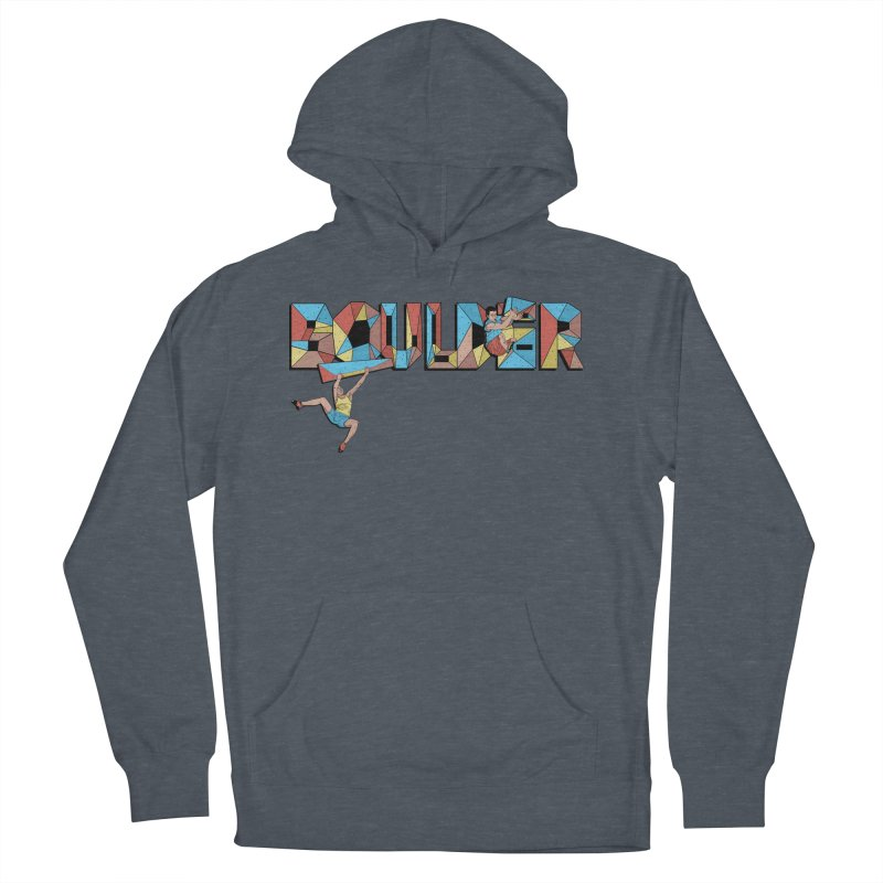 Color Boulder Men's French Terry Pullover Hoody by · STUDI X-LEE ·