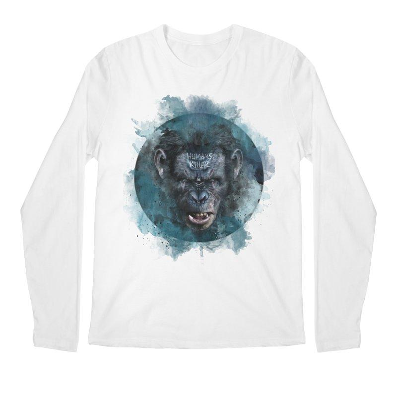 Humans Killer Men's Longsleeve T-Shirt by · STUDI X-LEE ·