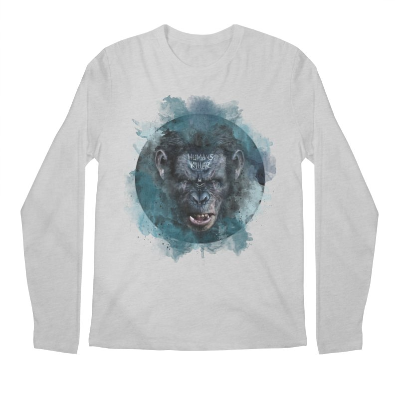 Humans Killer Men's Longsleeve T-Shirt by · STUDI X-LEE ·
