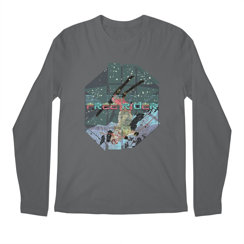 Free Rider Men's Longsleeve T-Shirt by INK. ALPINA