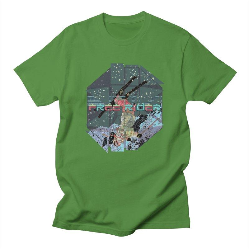 Free Rider Men's T-Shirt by · STUDI X-LEE ·