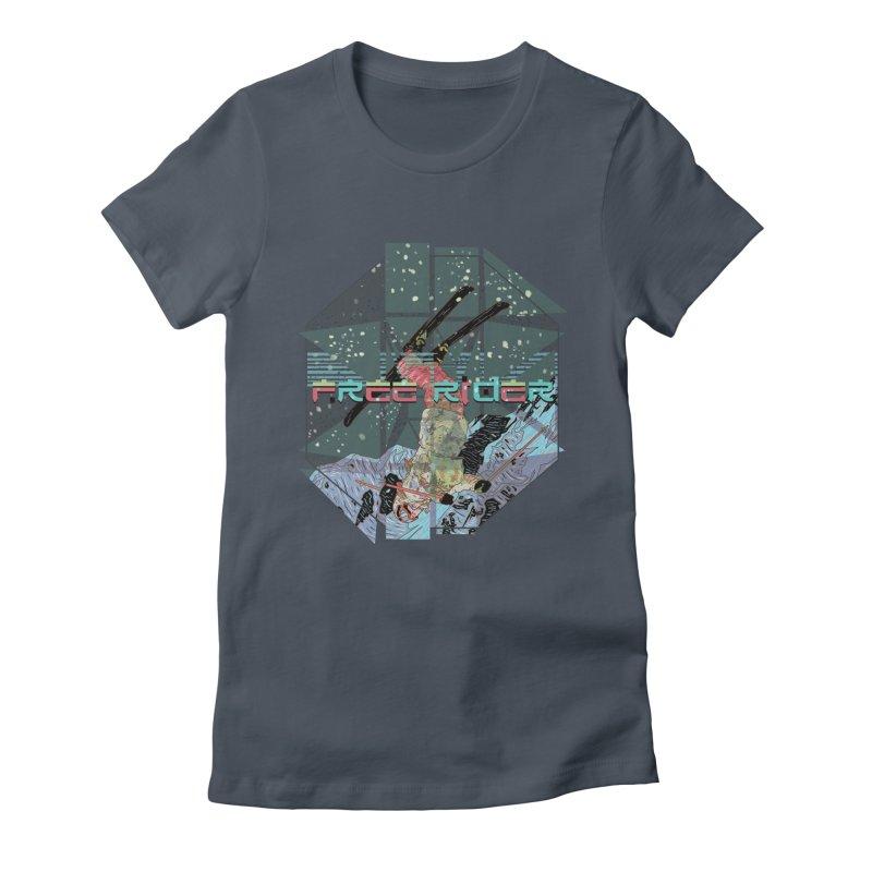Free Rider Women's T-Shirt by · STUDI X-LEE ·