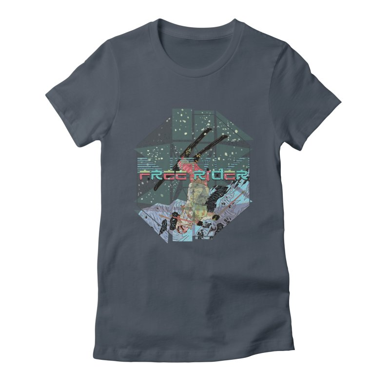 Free Rider Women's T-Shirt by · STUDI X-LEE ·