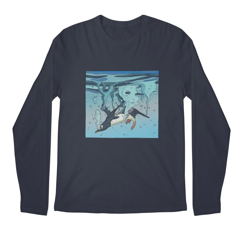 Penguin Men's Longsleeve T-Shirt by · STUDI X-LEE ·