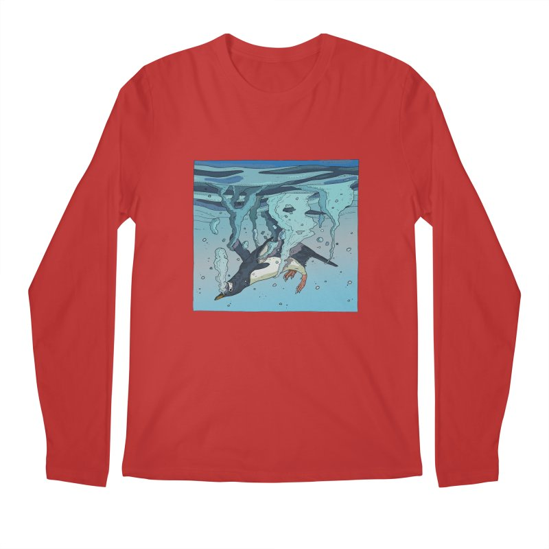 Penguin Men's Longsleeve T-Shirt by · STUDI X-LEE ·