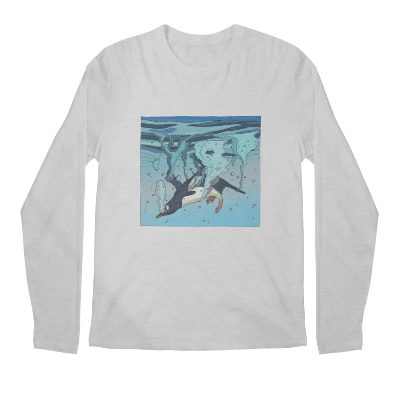 Penguin Men's Regular Longsleeve T-Shirt by · STUDI X-LEE ·