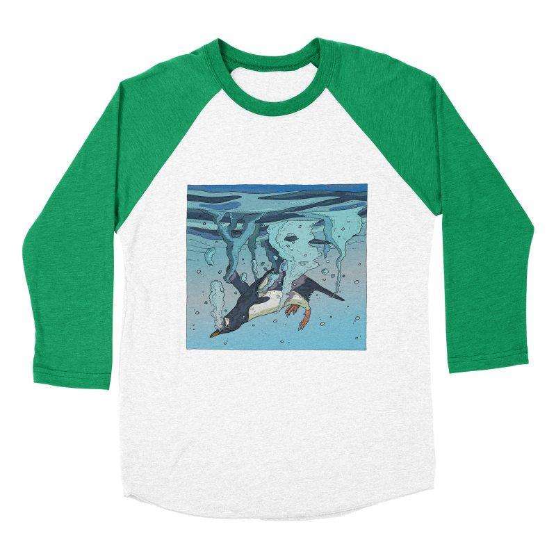 Penguin Men's Baseball Triblend Longsleeve T-Shirt by INK. ALPINA