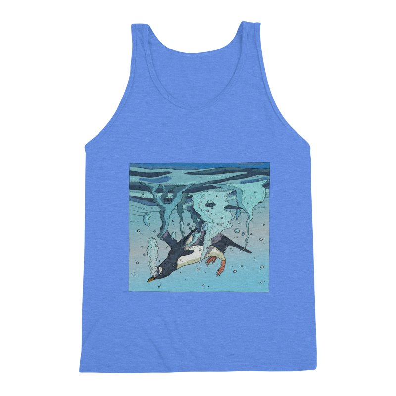 Penguin Men's Triblend Tank by · STUDI X-LEE ·